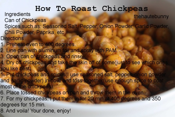 roasted chickpeas EDIT